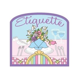 Etiquette fun patch