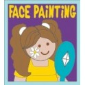 Face Painting fun patch