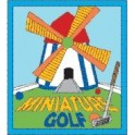 Miniature Golf fun patch
