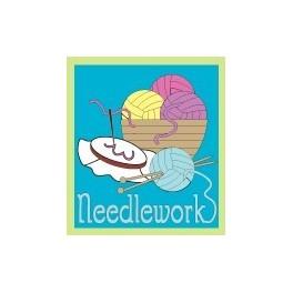 Needlework fun patch