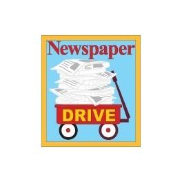 Newspaper Drive fun patch