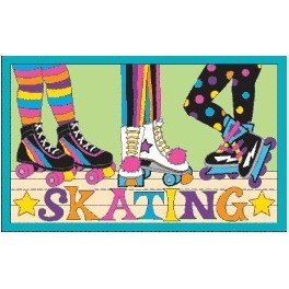 Skating fun patch