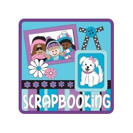 Scrapbooking fun patch