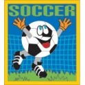 Soccer fun patch
