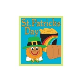 St Patrick's Day fun patch