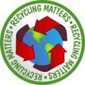Recycling Matters fun patch