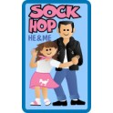 He & Me Sock Hop fun patch