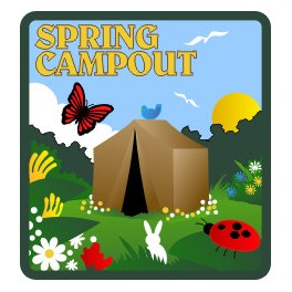 Spring Campout fun patch