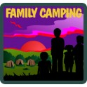 Family Camping fun patch