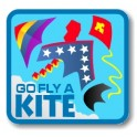 Go Fly a Kite fun patch