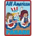 All American Parade fun patch