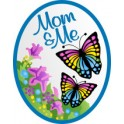 Mom & Me (Butterflies) fun patch