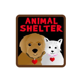 Animal Shelter fun patch
