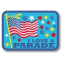 I Love a Parade fun patch