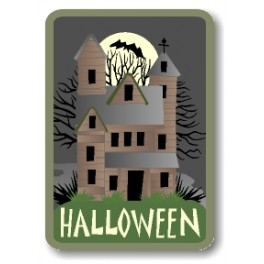 Halloween (Haunted House) fun patch