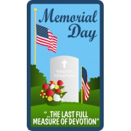 Memorial Day fun patch