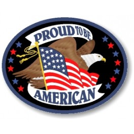 Proud To Be American patch