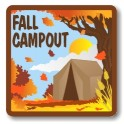 Fall Campout fun patch