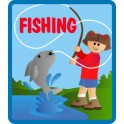 Fishing fun patch