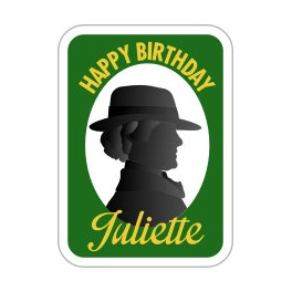 Happy Birthday Juliette fun patch