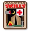 Camping Skills fun patch