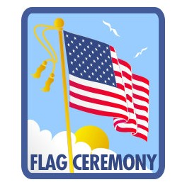 Flag Ceremony fun patch