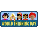 World Thinking Day (Banner) fun patch