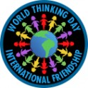 World Thinking Day (Paper Dolls) fun patch