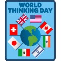 World Thinking Day (Flags) fun patch
