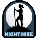 Night Hike fun patch