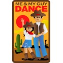Me & My Guy Dance (Western) fun patch