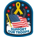 Support Our Troops (Flag)