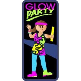 Glow Party fun patch