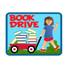 Book Drive fun patch