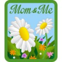 Mom & Me (Daisies) fun patch