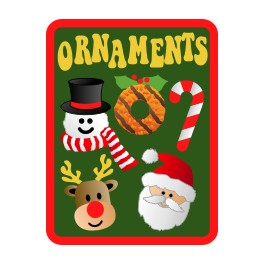 Ornaments fun patch