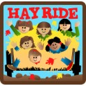 Hay Ride (6 girls) fun patch