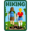 Hiking fun patch