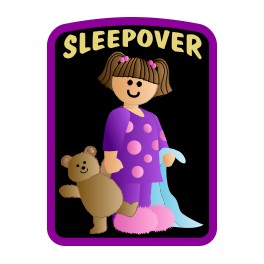 Sleepover fun patch