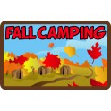 Fall Camping fun patch