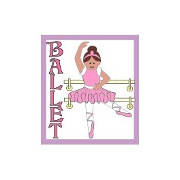 Ballet fun patch