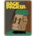 Back Packer fun patch