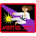 Martial Arts fun patch