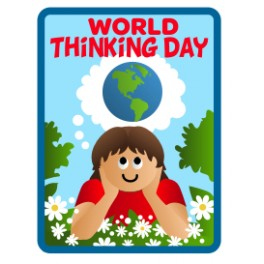 World Thinking Day (Girl in Daisies)