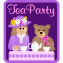 Tea Party fun patch