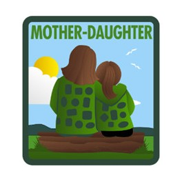 Mother-Daughter fun patch