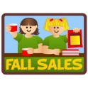 Fall Sales fun patch