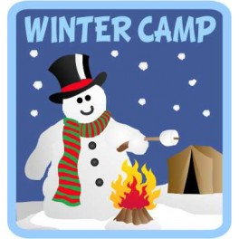 Winter Camp fun patch