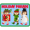 Holiday Parade (trio)  fun patch