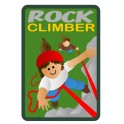 Rock Climber fun patch